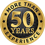 More than 50 years experience